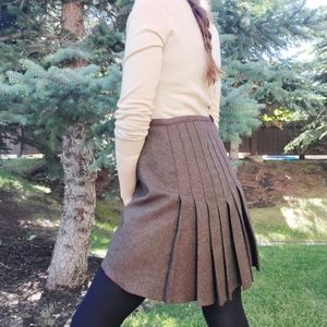 Diane von Furstenberg wool Giatello mini skirt